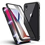 Octer Front & Back Case for Apple iPhone XR Magnetic Adsorption Design
