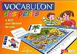 Vocabulon des petits. Jeux éducatifs pour découvrir l'alphabet, 3 à 6 ANS