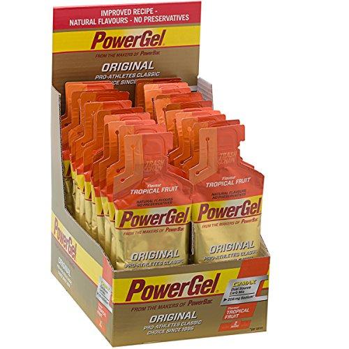 PowerBar Original Power PowerGel Tropical Fruit, 41 g * 24 unidades