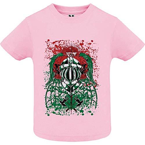 LookMyKase T-Shirt - Endless War - Bébé Fille - Rose - 18mois