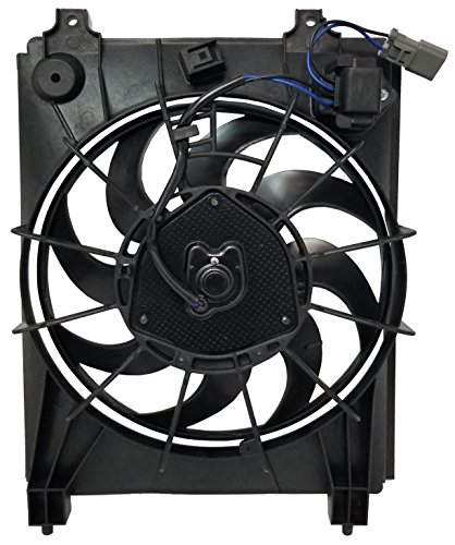 condenser cooling fan civic - 8
