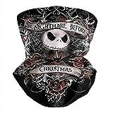 Cute Winter Unisex Balaclava Bandana Face Mask The-Nightmare-Before-Christmas-Jack-Skellington- Magic Neck Gaiter Scarf
