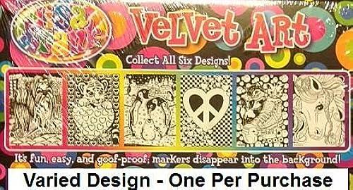 barato Lisa Lisa Lisa Frank Velvet Coloring Sheet Art Kit and Markers - Varied Images by Lisa Frank  a la venta