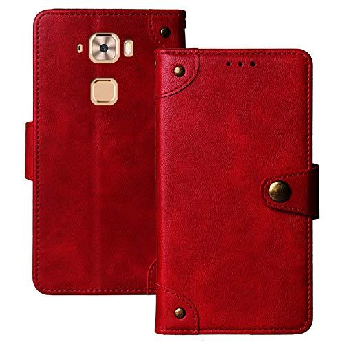 Lankashi Flip Brief Tasche Hülle Schütz Hülle Für MEDION Life X5520 MD 99607 5.5