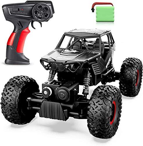 Wghz Coche de Control Remoto 4WD 2.4GHz RC Crawler Car Toy Gift Off-Road Electric Racing Car Monster Truck Coche de Alta Velocidad RC Fast Drift Car para niños y Adultos Niños Niños Niñas Regalos