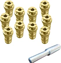 Brass Anchor for Pool Safety Cover - 10 Pack