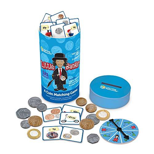 Learning Resources Little Banker Spiel Münzen zuordnen, Kinderspiele
