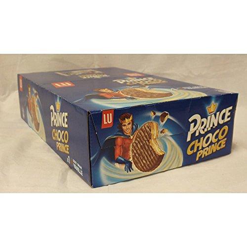 LU Prince Choco goût Vanille 20 x 28,5 g Packung je zwei pro Packung (Prinzen-Keks mit Vanillecreme-Füllung und Schokoladenummantellung)