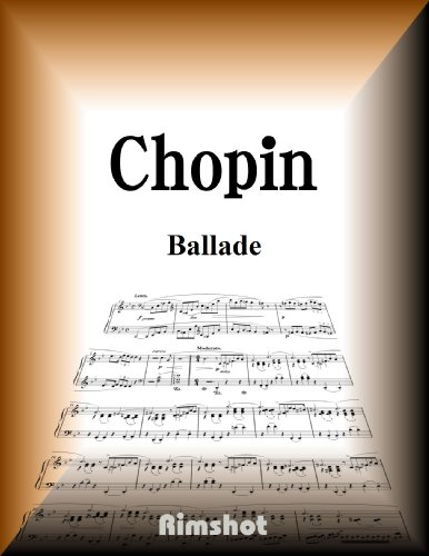 Chopin Ballade for Piano Solo (Japanese Edition)