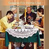 LuluDa Edelstahl Tischdeckenbeschwerer 10 Stück Extra Schwer Tischdeckenklammer Tischtuchklammern für Dicke Tischplatten, Fisch Tischtuch Klein Clips Tischtuchhalter für Drinnen Draußen Garten - 5