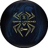 Hammer Dark Legend Solid Bowling Ball, 15 lb, Blue/Black