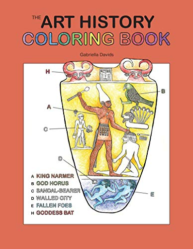 The Art History Coloring Book (Coloring Concepts)