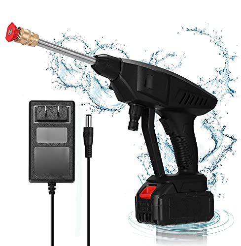 Lavadora a Presión Portátil De,máquina Limpiadora Eléctrica de Alta Presión,Dispositivo de Limpieza de Coche Manguera de 5 M,para Limpiador de Patio de Jardín de Automóvil y Hogar