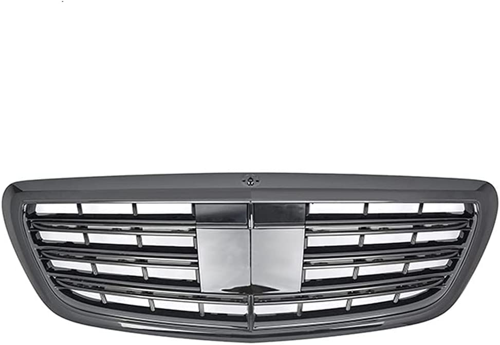 JYJYJY Racing Center Grille Bargain sale Facelift Grill Car Merced for Front Max 86% OFF