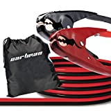 CARTMAN Heavy Duty Booster Cables Jump Cable with Carry Bag, 2 AWG...