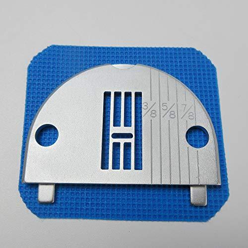 Zigzag - Plato de aguja para máquina de coser Brothers 451 461 751 761 1241 8005 Xl771S