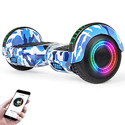 VEVELINE Hoverboard for Kids w/Bluetooth Speaker