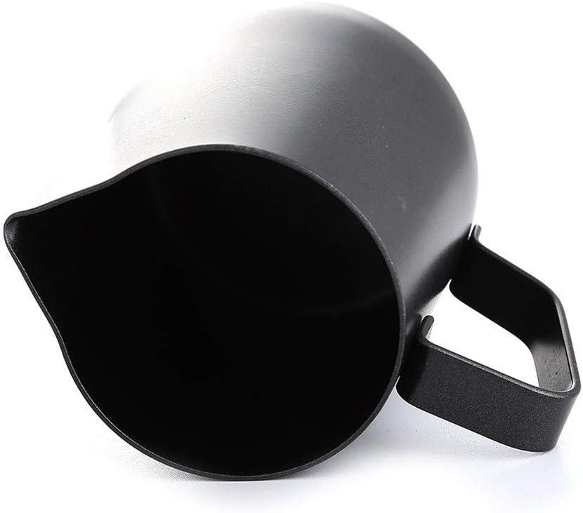 LANGPIAOEZU Sauber 10/20 Unzen 18/8 Edelstahl Espresso Latte Art Kaffee Aufschäumen Von Milch Pitcher Steaming Milchkrug Schaumbehälter perfekte Größe (Color : 20oz) 20oz