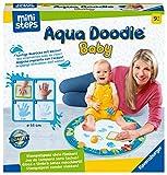Ravensburger ministeps 4181 Aqua Doodle Baby - Fleckenfreies Stempeln mit Wasser - Erstes Stempelset für Babys ab 9 Monaten - Mit magischer Stoffmatte