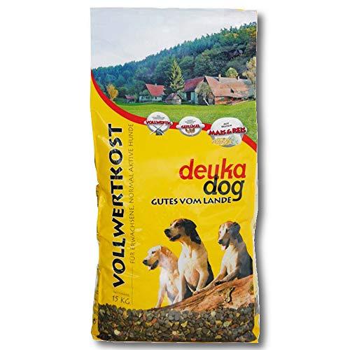 Deuka Dog Vollwertkost 15kg Hundefutter Hundenahrung Flockenfutter Trockenfutter