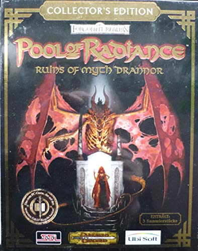 Forgotten Realms, Pool of Radiance, Ruins of Myth Drannor, Collectors Edition