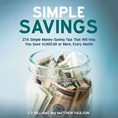 Simple Savings audiobook cover art