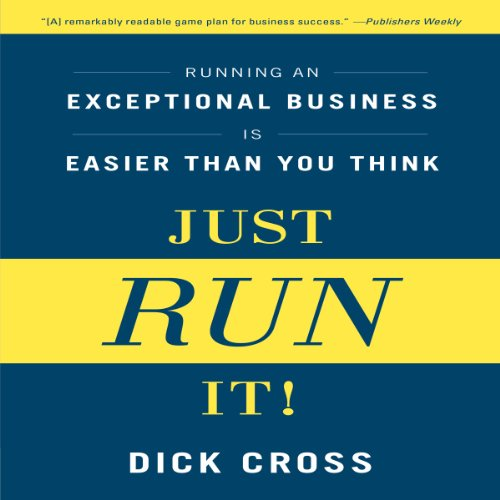 Just Run It! audiobook cover art