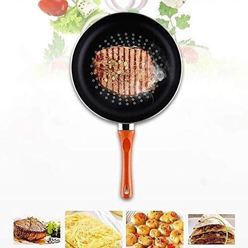 Koekenpannen Professional Koekenpan 26cm Inductie Non Stick Koekenpan No-smoke non-stick pan huishoudelijke Cookware Inductie oven en vaatwasser Safe HAOSHUAI