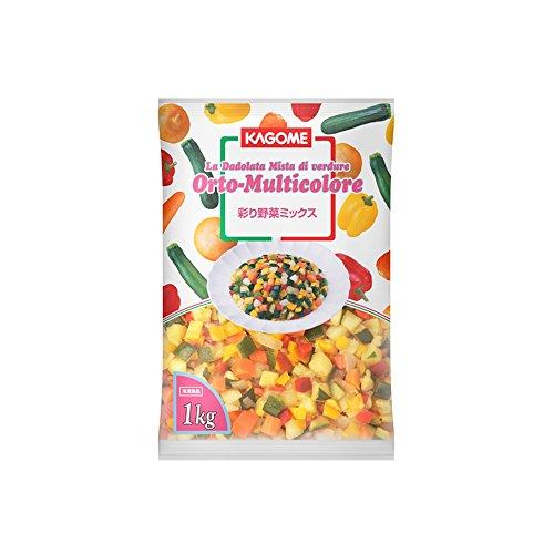 カゴメ 野菜彩り野菜ミックス 1kg【冷凍】