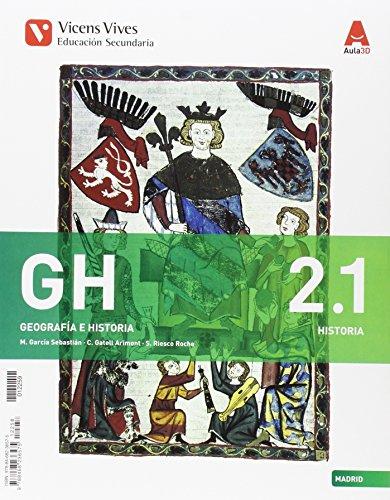 GH 2 MADRID (HIST/GEO) + SEP GEO AULA 3D: GH 2 COMUNIDAD DE MADRID (HIST/GEO) + SEP GEO AULA 3D