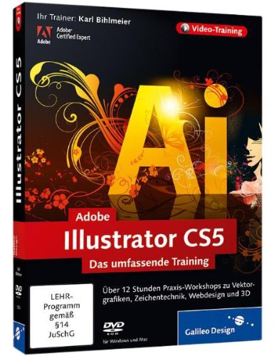 Adobe Illustrator CS5 : Das umfassende Training [import allemand]