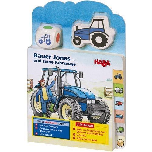 HABA 5317 Bauer Jonas und Seine Fahrzeuge