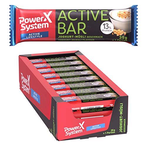 Power System Active Bar - Energie Riegel - 24 x 35g (Joghurt-Müsli)