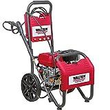 WALTER Werkzeuge AGW-180E Benzin-Hochdruckreiniger, Rot/schwarz
