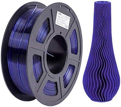 3D PETG Printer Filament Transparent Blue PETG 1kg 2 2lbs Dimensional Accuracy 1 75mm 0 02mm product image