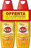 Autan Active Vapo Insetto Repellente e Antizanzare Bipacco, 2 Confezioni da 100 ml