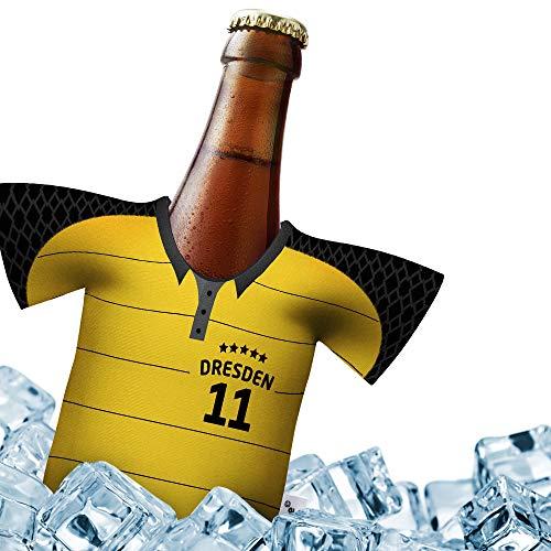 Herren Trikot 2019/20 kühler Home für SG Dynamo Fans   FUßBALL-Gott   1x Trikot   Fußball Fanartikel Jersey Bierkühler by ligakakao.de