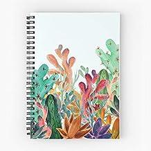 Illustration Succulents Plants Pencil Watercolor Cactus Colorful Colored Tote Cotton Very Bag | Bolsas de supermercado de lona Bolsas de mano con asas Bolsas de algodón duraderas