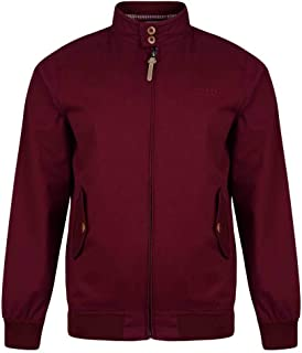 Lambretta Mens Harrington Bomber MOD SKA Scooter Jacket Coat