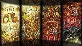 Luyshts 1000pcs Puzzle Rompecabezas para Adultos Rompecabezas Póster La Leyenda de Zelda: Aliento de lo Salvaje Adultos Juego de DIY Juguetes Regalo