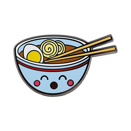 REAL SIC Ramen Enamel Pin - Cute Kawaii Noodle Lapel Pin - Ramen Fashion Accessory for Jackets, Backpacks, Bags, Hats & Tops