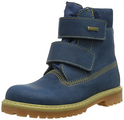 Däumling Unisex-Kinder Timmy St - Andi - Aspen Kurzschaft Stiefel, Blau (Denver Jeans), 29 EU