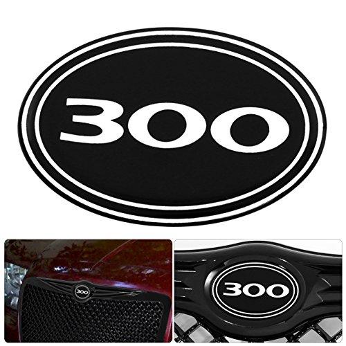 AJP Distributors For Chrysler 300 300C Front Grille Grill Logo Emblem Gel Sticker Replacement