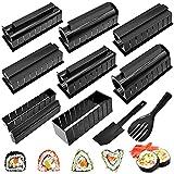 Kit para Hacer Sushi, Moldes Sushi Maker Kit Con 5 formas diferentes puedes hacer varias formas de sushi inmediatamente
