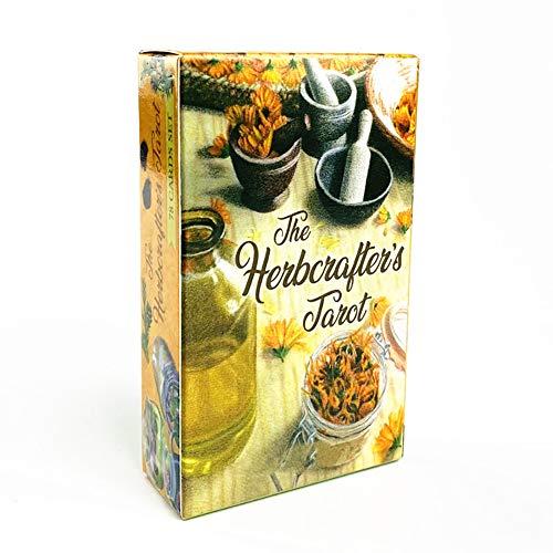 El Tarot de Herbcrafter predice el Destino Futuro, Juegos de Mesa Casuales, Juegos de Cartas, inglés, Juegos de baraja, reuniones Familiares, Juegos de Cartas, adivinación,