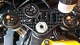 Adhesivo Etiqueta Engomada Gel 3D Placa Dirección Compatible X Moto Yamaha YZF R1 de 2015