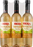 Iberia Dry White Cooking Wine 25.4 oz (Pack of 3)