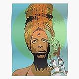 BLUEFLY Badu Eye Third Erykah for Home Decor Wall Art Print Poster