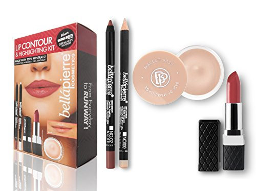 bellapierre COSMETICS Coffret Contour des Lèvres Nude 1 g