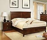 Furniture of America Pasha 3-Piece Queen Platform Bedroom...